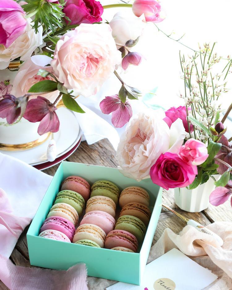 Macaroons for Mother's Day Gifting Afternoon Tea Party