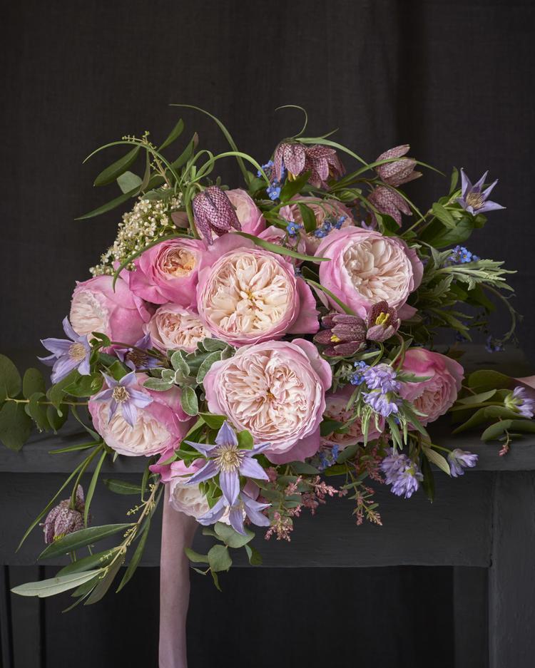 Constance Roses Wedding Bouquet Design