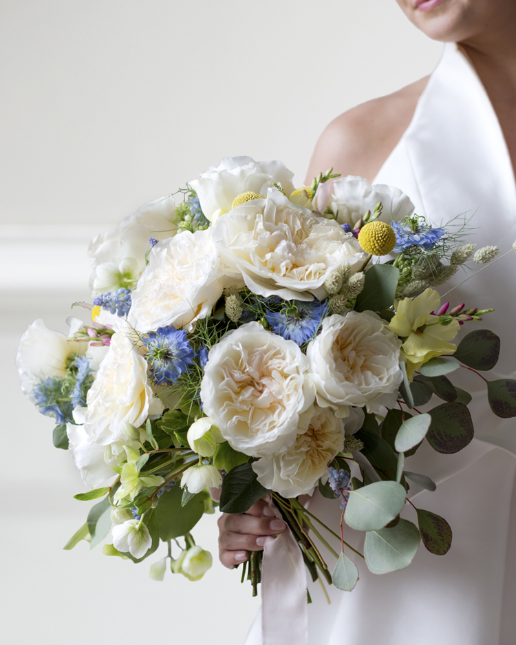 Eugenie Rose Wedding Bouquet Design