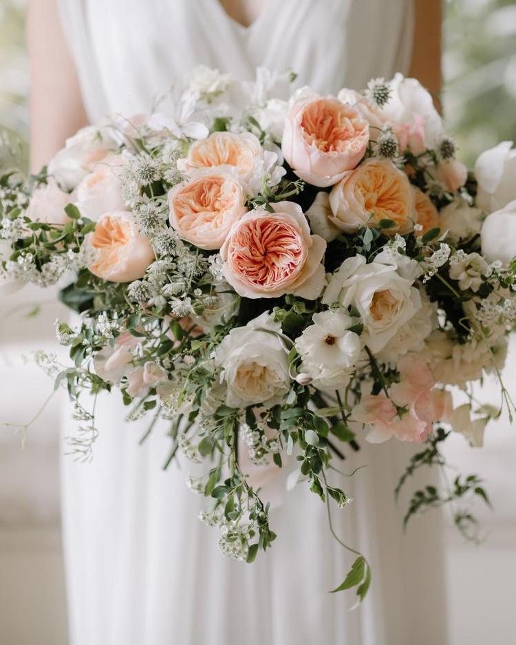 Juliet Rose Wedding Bouquet Design