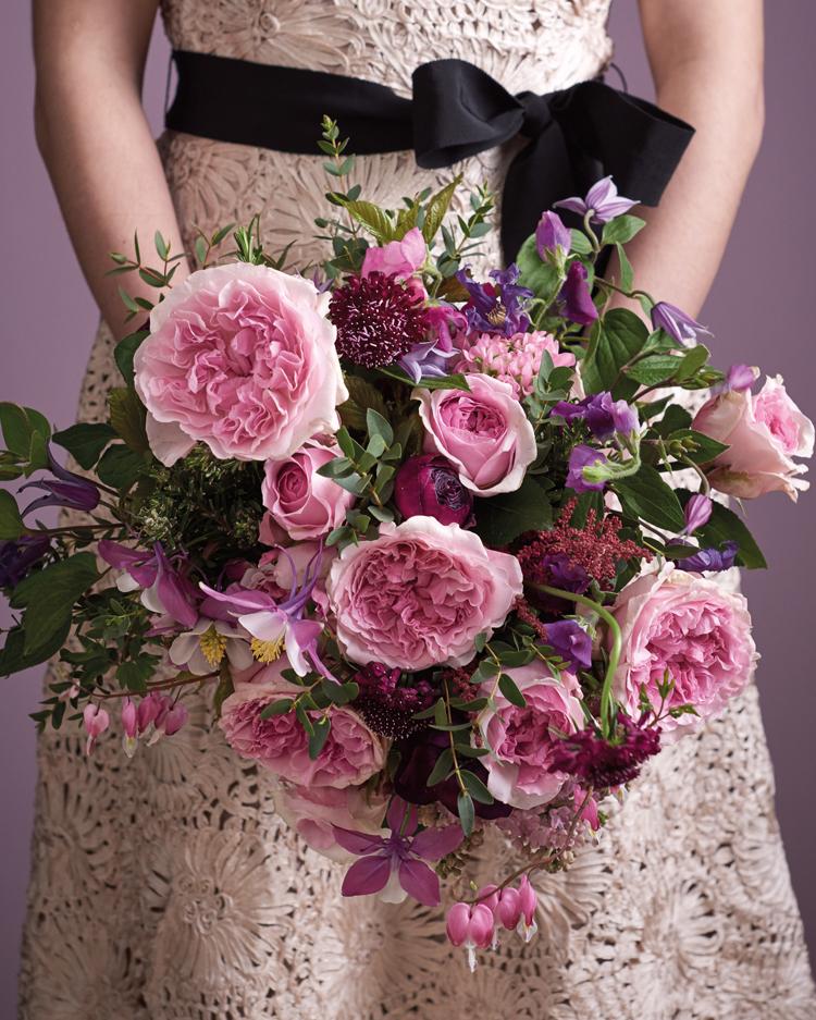 Miranda Roses Wedding Bouquet Design