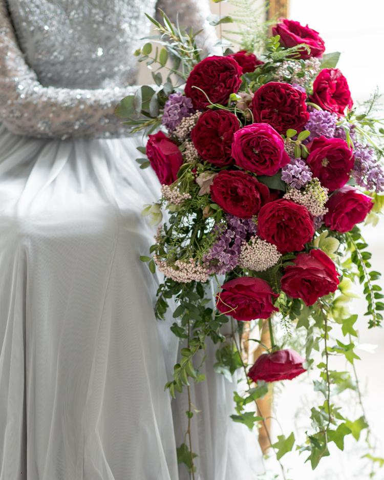 Tess Rose Wedding Bouquet Design