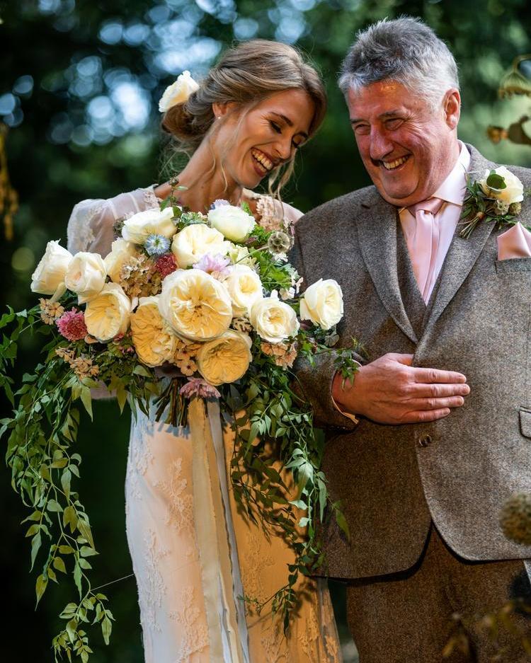 Father of the Bride Wedding Scene