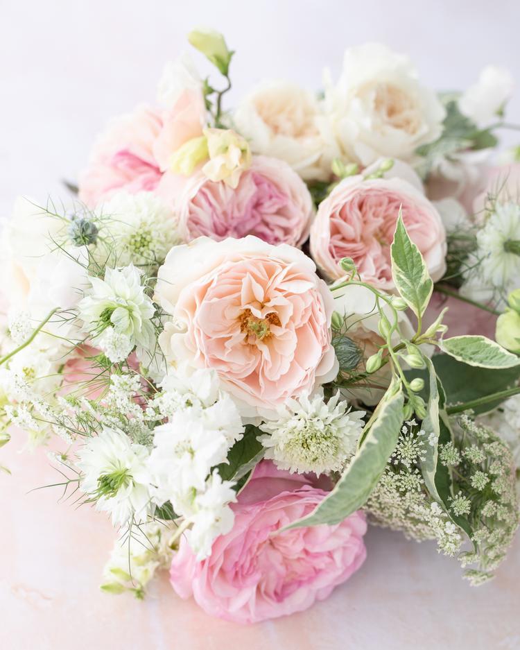 Blush Wedding Roses