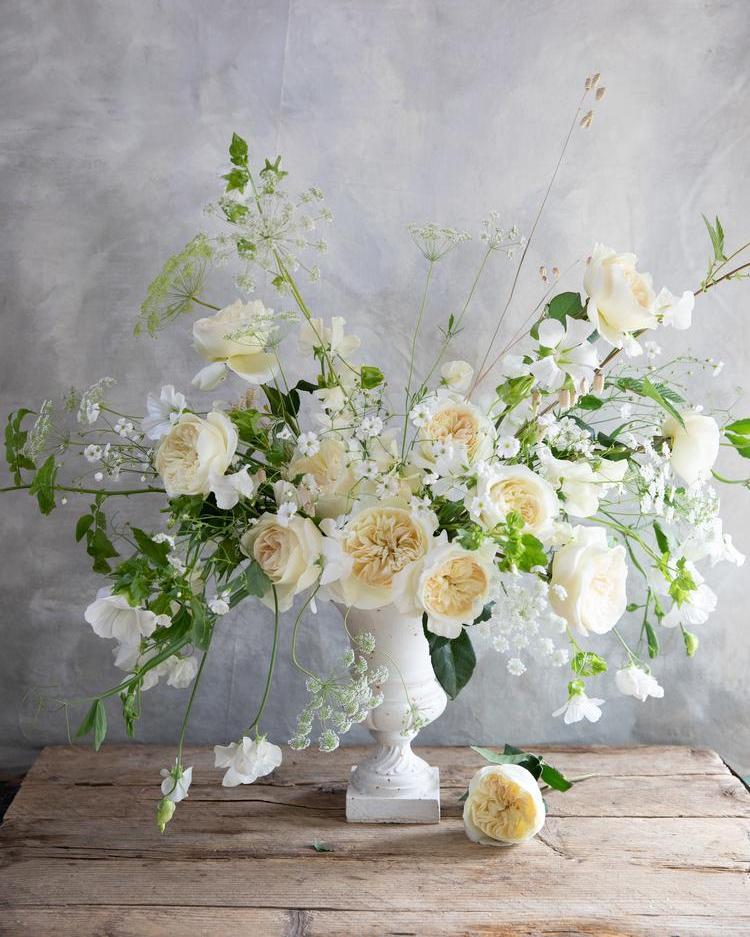 Leonora Rose Wedding Urn Design