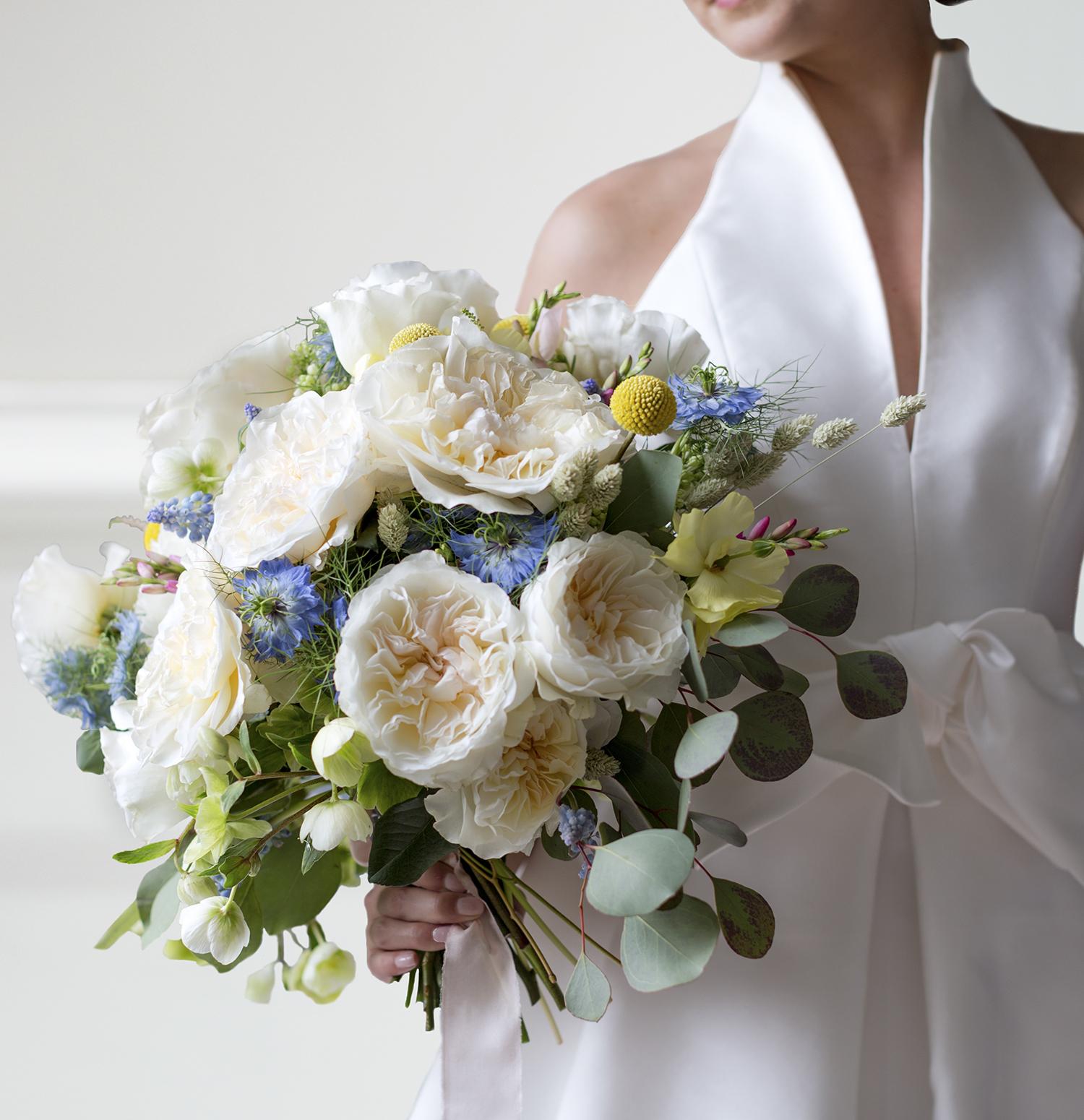 Eugenie rose David Austin Bride Bouquet