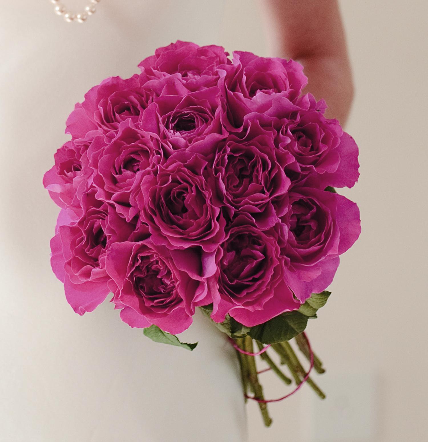 Kate Rose David Austin All Rose Bouquet