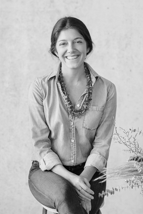 Kim Wiseley, Founder and Creative Director of Flutter Magazine and The Floral Pantry