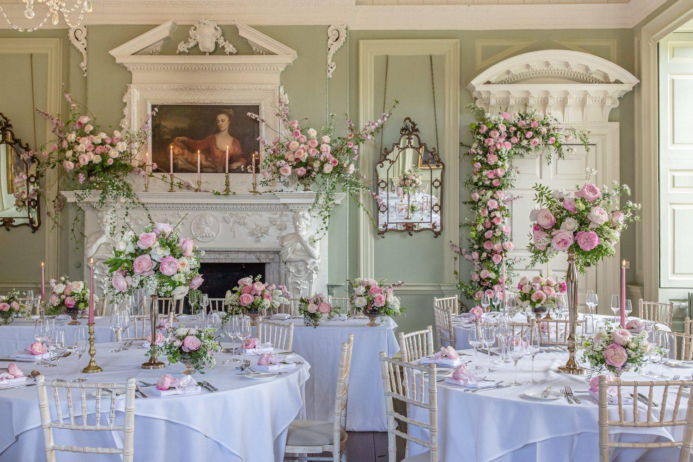 Luxury Wedding Reception Floral Inspiration