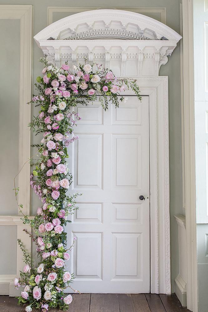 Wedding door arch 80 roses