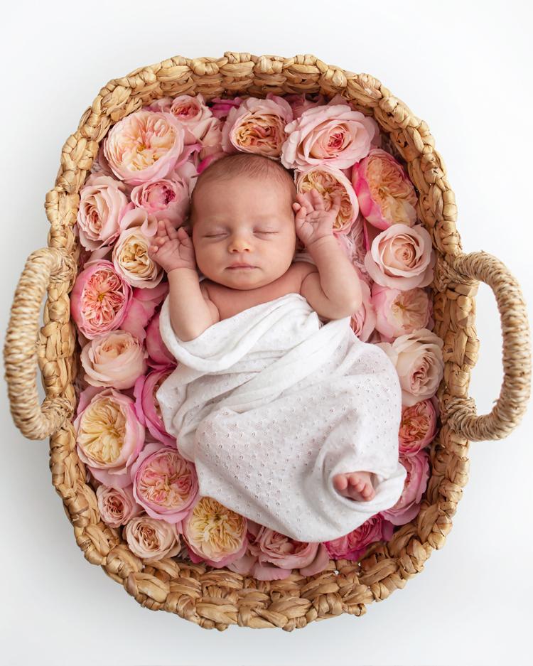 赤ちゃんの写真撮影のアイデア