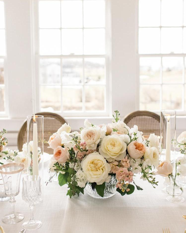 Floral Ideas for Wedding Table
