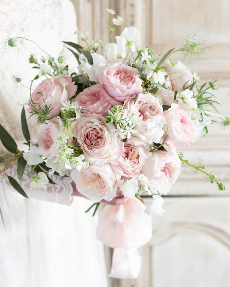 Keira Wedding Bouquet David Austin Cut Rose