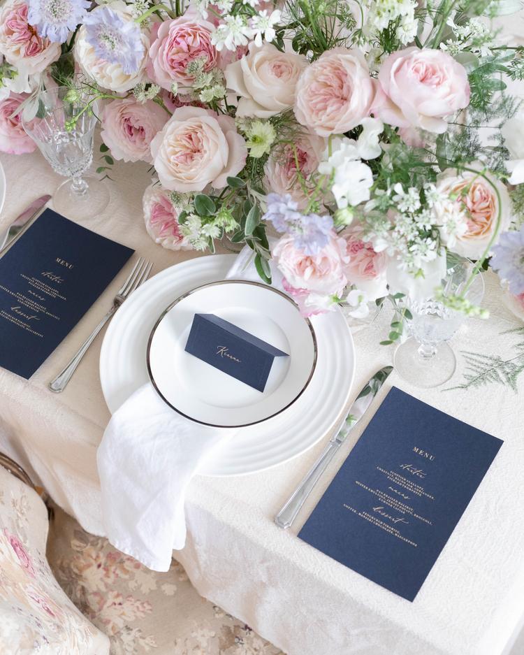 Keira Wedding Table David Austin Cut Roses